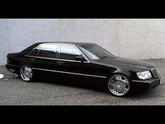 MERCEDES BENZ W140 S600 LONG
