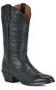 Ariat� Ladies Heritage Black R-Toe Western Boots