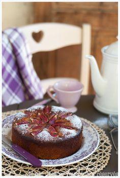 Gâteau provençal à la figue et au miel