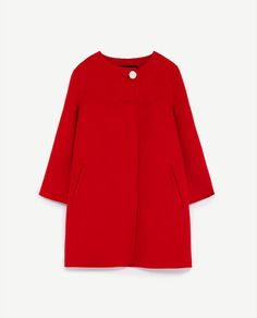 BUTTONED COAT DETAILS 5,990.00 MKD COLOR: Red 7522/048