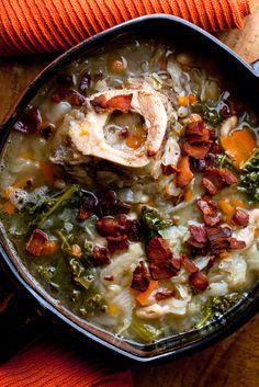 Recipe: Ham Bone Soup || Photo: Andrew Scrivani for The New York Times