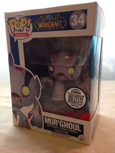 WOW BLIZZCON 2014 EXCLUSIVE - Mur'Ghoul #34 - Funko Pop Games - In Box!