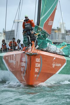 Groupama 4 / In-Port Auckland / Volvo Ocean Race The World Race, Race Around The World, Volvo Ocean Race, Global Weather, Yacht Boat, Sailing Yachts, Volvo Cars, Motor Boats, Luxury Yachts