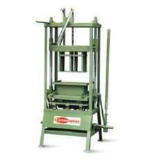 www.everonimpex.net/manual-block-making-machine.php - Hand Operated Concrete Block Making Machine Manufacturers, Suppliers & Exporters in India.