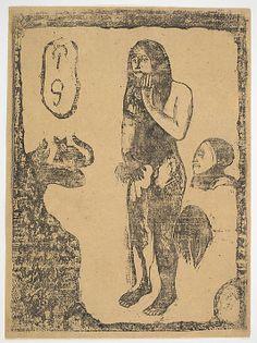 Eve  -  Paul Gauguin  (French, Paris 1848–1903 Atuona, Hiva Oa, Marquesas Islands )