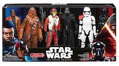 Star Wars - The Force Awakens Episode 7 - Exklusiver Action Figuren 6er Pack / 32cm je Figur