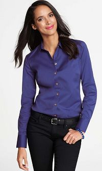 Ann Taylor Long Sleeve Button Down Shirt - Love!