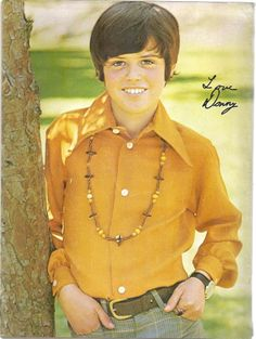 Donny Osmond…I am pretty sure I had this on my wall at some point..:)
