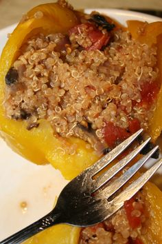 Quinoa Stuffed Peppers from the Jillian Michaels' Body Revolution Fat Burning Meal Plan