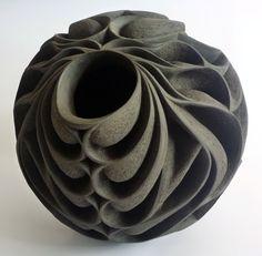 Halima Cassell, Pheonix, 2011, Handcarved stoneware.