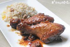 Pollo marinado en jengibre y sésamo | L'Exquisit