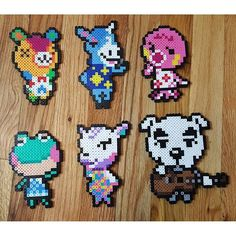 Animal Crosssing perler beads by emerald_city_simulation