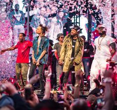 Wiz Khalifa, Ty Dolla $ign, Ludacris and 50 Cent Perform at the Official Billboard Music Awards After Party at Drai's Nightclub (Photo credit: Mike Kirschbaum and Tony Tran / Tony Tran Photography).