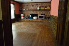How to fix up old wood floors without refinishing, from Young House Love. Hardwood Floors Restore, Living Room Hardwood Floors, Old Wood Floors, Restore Wood, Cleaning Wood Floors, Wood Laminate Flooring, Diy Flooring, Wood Planks, Diy Wood Floor Cleaner