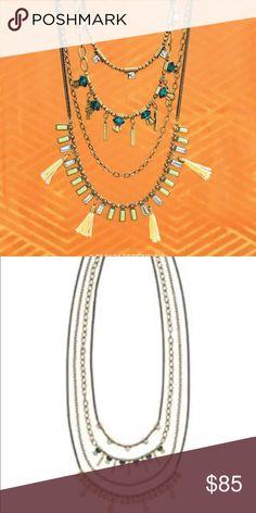 Silpada necklace Silpada neon layers necklace. New! Silpada Jewelry Necklaces