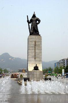 Estatua del General Almirante Yi Sun-sin,
