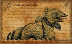 Explore the world and fight giant sea monsters (and download desktop wallpapers) in Ancient Trader . Via . * Buy vintage globes at eB...