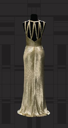 Chanel evening dress, Museum of Costume and Lace, 1930-31