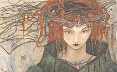 Eliza, wild and beautiful From The Wild Swans by Jackie Morris