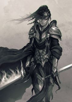 Knight, Nick  Gan on ArtStation at http://www.artstation.com/artwork/knight-00e657e4-940f-4d72-9bfc-2e48f7cd355e