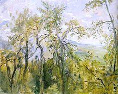Max Slevogt BAUMGRUPPE, NEUKASTEL, 1921