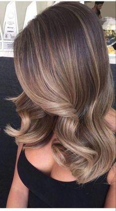 Ombre Hair Color, Hair Color For Black Hair, Hair Color Balayage, Summer Hair Color For Brunettes, Bayalage On Black Hair, Dark Hair With Balayage, Caramel Hair With Brown, Brown To Blonde Ombre Hair, Baliage Hair