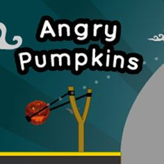 On this #Halloween night you can take control of #evil pumpkins! These evil #pumpkins aim to destroy all of the #Frankenstein heads by throwing themselves at them! #AngryBirds #Arcade