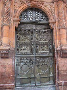 old liverpool door