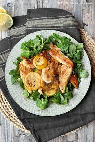 Zitronenhähnchen aus dem Ofen   Kochen   Rezepte Potato Salad, Meal Planning, Turkey, Low Carb, Cooking Recipes, Meals, Chicken, Healthy, Ethnic Recipes