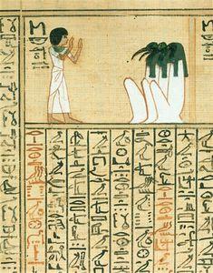   Livre des morts, papyrus de Nebqed   Images d'Art