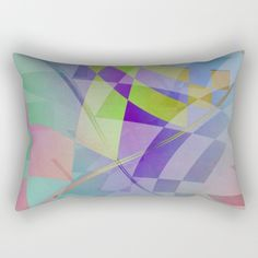 Buy Multicolored abstract no. 68 Rectangular Pillow by Christine baessler. Worldwide shipping available at Society6.com. Just one of millions of high quality products available.