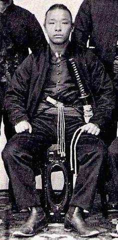 Samurai from the Satsuma clan, Boshin war era, late 1800s. - Imgur