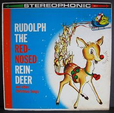 Rudolph The Red-Nosed Reindeer LP, via MADsLucky13 on Flickr.