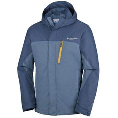 Columbia Pouring Adventure Jacket (steel, Night Tide)