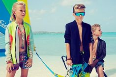 Vogue Kids Brasil December 2013, Festa al mare