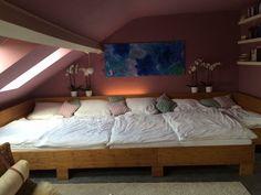 Familienbett ❤️ Co-Sleeping ❤️ XXL-Bett ❤️ Bambus