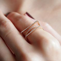 """Frames"" Diamond Ring - Plukka - Shop Fine Jewelry Online"