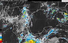 Se prevén, durante las próximas horas, tormentas muy fuertes en zonas de Coahuila, Durango, Sinaloa, Guerrero, Oaxaca, Chiapas y Veracruz, así como tormentas fuertes en regiones de Sonora, Chihuahua, Zacatecas, ...