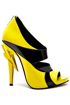 Vs2R - Shoes - 2014 Spring-Summer - I am officially a fan of color!! love the yellow