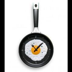 INFMETRY:: Fried Egg Wall Clock - Home&Decor