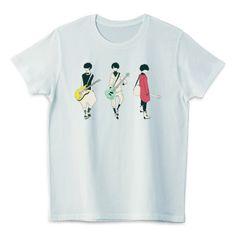 ギター&ベース男子 | デザインTシャツ通販 T-SHIRTS TRINITY(Tシャツトリニティ)