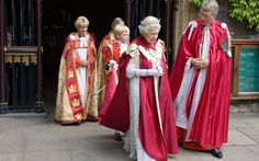 Ceremony Order of the Bath is carried out by Queen Elizbeth at Westminster Abbey every eight years