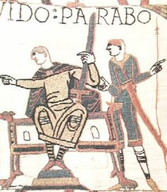 The Garments of Guy in the Bayeux Tapestry #medieval