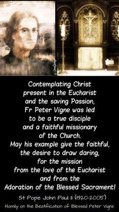 +St John Paul II+ John 15 16, Pope John Paul Ii, Saint Feast Days, Girl God, Strong Faith, Catholic Religion, Saint Quotes, Eucharist, Faith Prayer