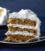 Triple-Layer Carrot Cake with Fluffy Vanilla Frosting @rachaelraymag| rachaelraymag.com