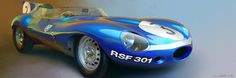 sharonov:1957 Jaguar D-Type by Ecurie Ecosse