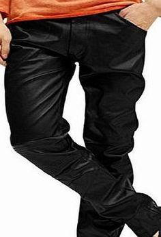 Sourcingmap Men Slant Pockets Front Zip Fly Slim Faux Leather Pants Black size 32 No description http://www.comparestoreprices.co.uk/latest1/sourcingmap-men-slant-pockets-front-zip-fly-slim-faux-leather-pants-black-size-32.asp