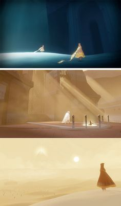 http://theconceptartblog.com/2012/09/04/arte-do-game-journey-da-thatgamecompany/