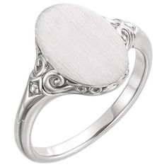 This sterling silver paisley scroll signet ring is a beautiful paisley design ring with a flat space on the top that allows for optional engraving to make the ring completely your own! Silver Bracelets, Silver Rings, Necklace For Girlfriend, Signet Ring, Sea Glass Jewelry, Personalized Jewelry, Sterling Silver Jewelry, 925 Silver, Gemstone Rings