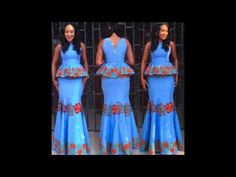 Top 30 Latest Ankara Long Skirt And Blouse And Long Gown Styles For Ladi...